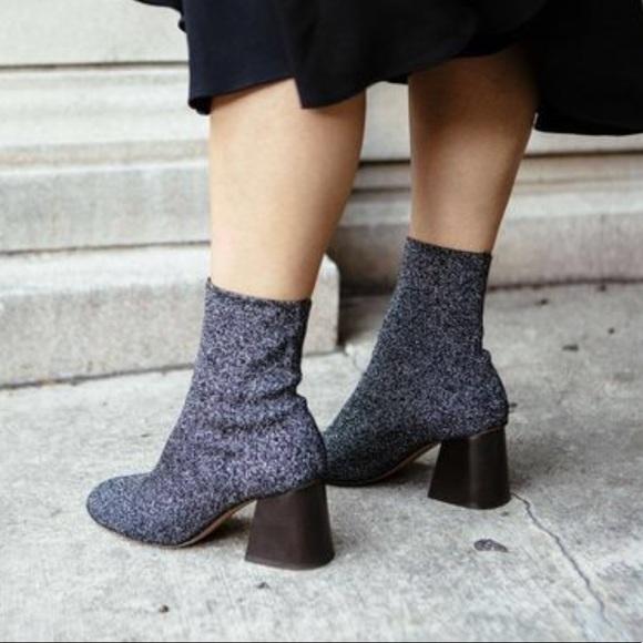 717ef89524a9 Celine Metallic Sock Boot. Listing Price: $125.00